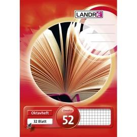 Oktavheft A6 kariert 32Blatt 70g weiß Landré 100050478 Produktbild