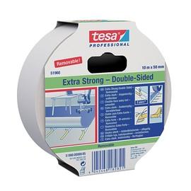 Verlegeband 50mm x 25m beidseitig klebend Tesa 51960-00002-00 (RLL=25 METER) Produktbild