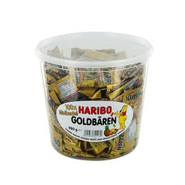 Haribo Minibeutel Fruchtgummi Goldbären 745653 (DS=100 BEUTEL) Produktbild