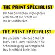 Textmarker Executive 73 2-5mm Keilspitze gelb Stabilo 73/14 Produktbild Additional View 9 S