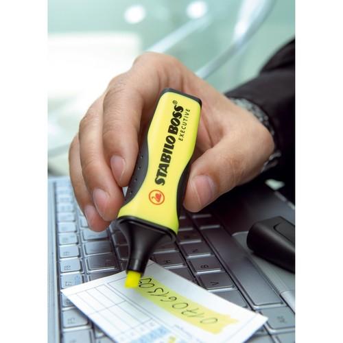 Textmarker Executive 73 2-5mm Keilspitze gelb Stabilo 73/14 Produktbild Additional View 2 L