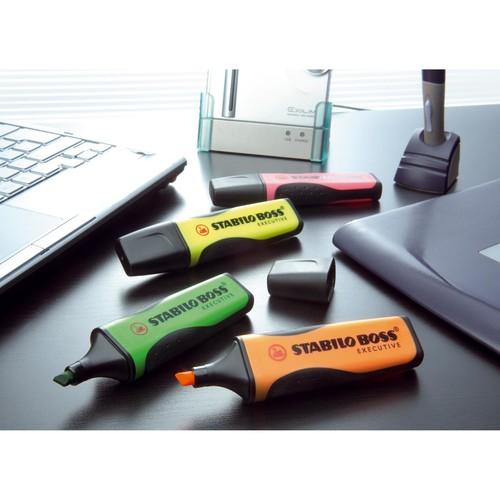 Textmarker Executive 73 2-5mm Keilspitze gelb Stabilo 73/14 Produktbild Additional View 4 L
