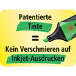 Textmarker Executive 73 2-5mm Keilspitze gelb Stabilo 73/14 Produktbild Default S