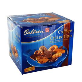 Gebäck- und Waffelmischung mit Vollmich- schokolade (14%) und Schokolade (3,2%) Coffee Collection Bahlsen 40990 (PACK=4x 500 GRAMM) Produktbild