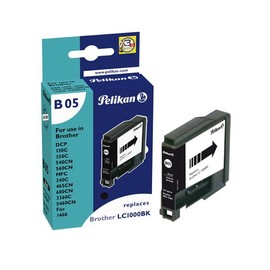 Tintenpatrone Gr. 1035 (LC-1000BK) für DCP130C/DCP330C 19ml schwarz Pelikan 361349 Produktbild
