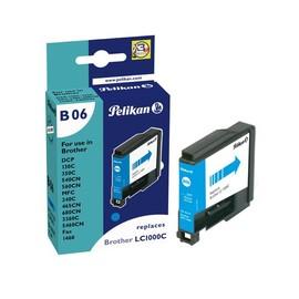 Tintenpatrone Gr. 1035C (LC-1000C) für DCP130C/DCP330C 10ml cyan Pelikan 361363 Produktbild