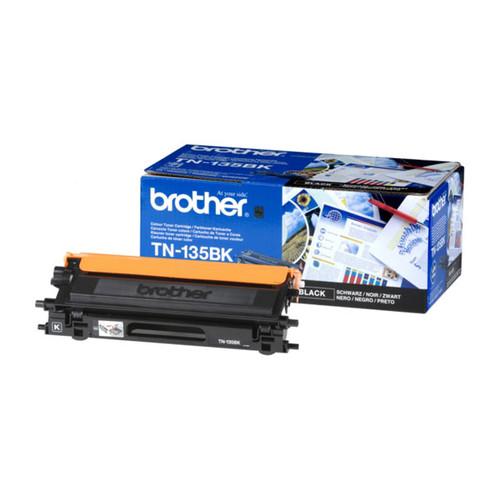 Toner für DCP-9040CN/9042CDN 5000Seiten schwarz Brother TN-135BK Produktbild Front View L