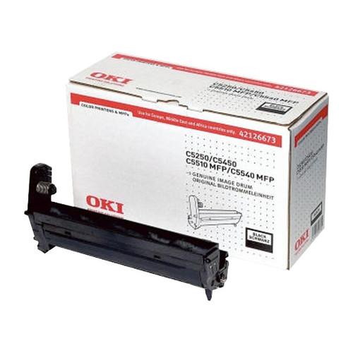 Trommel für C5250/C5450/C5510/C5540MFP 17000Seiten schwarz OKI 42126673 Produktbild Front View L