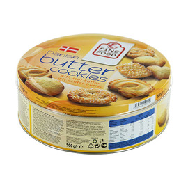 Dänische Buttergebäck Butter-Cookies Danesita 484662 (PACK=500 GRAMM) Produktbild