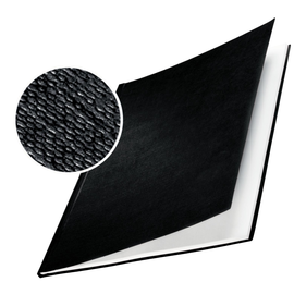 Bindemappen Hard Cover A4 für 71-105Blatt schwarz Leinenstruktur Leitz 7392-00-95 (PACK=10 STÜCK) Produktbild