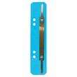 Einhänge-Heftstreifen kurz mit Metall-Deckschiene 35x158mm blau Karton Leitz 3701-00-35 (PACK=25 STÜCK) Produktbild