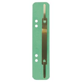 Einhänge-Heftstreifen kurz mit Metall-Deckschiene 35x158mm grün Karton Leitz 3701-00-55 (PACK=25 STÜCK) Produktbild