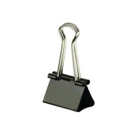 Foldbackklammern 15mm schwarz mit silbernem Bügel ALCO 780-11 (PACK=12 STÜCK) Produktbild