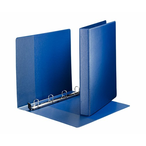Ringbuch SoftClick Premium A4 Überbreite 4Ringe Ringe-Ø20mm- bis 180Blatt blau PP-Folie Leitz 4601-00-35 Produktbild