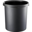 Papierkorb LINEAR 13l schwarz Helit H6105295 Produktbild