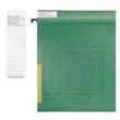 Blanko-Schildchen für Vollsichtreiter 50x15mm weiß Leitz 2465-00-01 (BTL=100 STÜCK) Produktbild