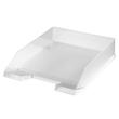 Briefkorb Classic für A4 255x56x345mm transparent matt kunststoff Herlitz 10493609 Produktbild