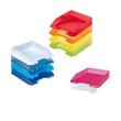 Briefkorb Classic für A4 255x56x345mm transparent matt kunststoff Herlitz 10493609 Produktbild Additional View 1 S