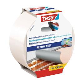 Verlegeband 50mm x 10m beidseitig klebend rückstandsfrei entfernbar Tesa 55731-00011-11 (RLL=10 METER) Produktbild