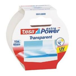 Gewebeband extra Power Universal 48mm x 10m transparent Tesa 56349-00000-02 (RLL=10 METER) Produktbild