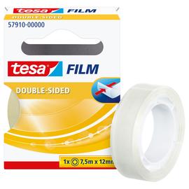 Klebeband doppelseitig 12mm x 7,5m transparent Tesa 57910-00000-00 (RLL=7,5 METER) Produktbild