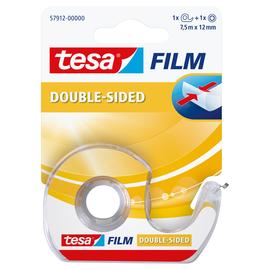 Klebeband doppelseitig 12mm x 7,5m transparent inkl. Abroller Tesa 57912-00000-01 (RLL=7,5 METER) Produktbild