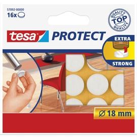 Filzgleiter ø 18mm weiß Tesa 57892-00000-01 (BTL=16 STÜCK) Produktbild