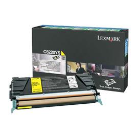 Toner für Optra C520N/C522N/C524 3000Seiten yellow Lexmark C5220YS Produktbild