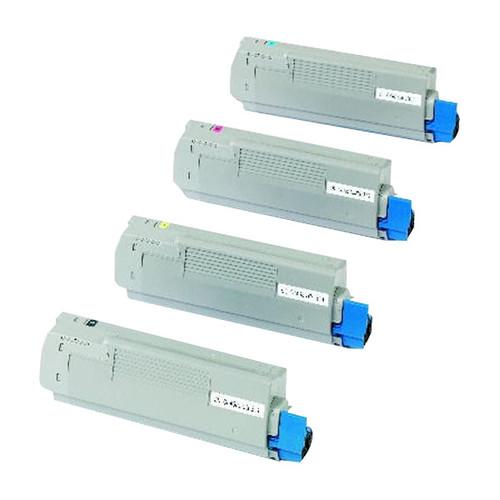 Toner für C5850/C5950/MC560 6000Seiten magenta OKI 43865722 Produktbild Front View L