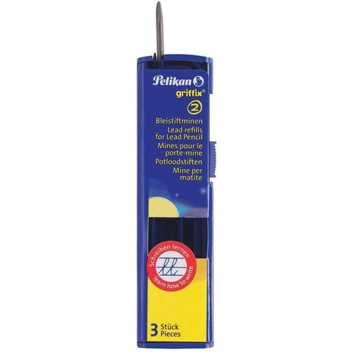 Minen HB für Griffix Bleistift B1R Pelikan 960476 (PACK=3 STÜCK) Produktbild Additional View 3 L