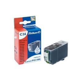 Tintenpatrone Gr. 1504 (PGI-5BK) für Pixma IP4200/5200/MP500 27ml schwarz Pelikan 361691 Produktbild