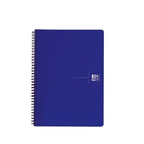 Collegeblock Oxford Blue A4+ kariert 4-fach Lochung 70Blatt 90g Optik Paper weiß 100050225 Produktbild Additional View 1 L