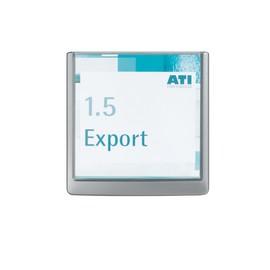 Türschild CLICK SIGN 149x148,5mm graphit kunststoff Durable 4862-37 Produktbild