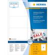 Etiketten Inkjet+Laser+Kopier 96x63,5mm auf A4 Bögen Movables weiß wiederablösbar Herma 10308 (PACK=800 STÜCK) Produktbild Additional View 1 S