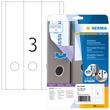 Rückenschilder zum Bedrucken 61x297mm lang breit auf A4 Bögen Movables weiß wiederablösbar Herma 10185 (PACK=75 STÜCK) Produktbild