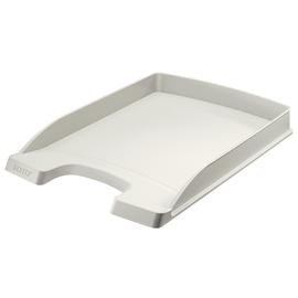 Briefkorb Plus flach für A4 242x32x340mm grau Kunststoff Leitz 5237-00-85 Produktbild