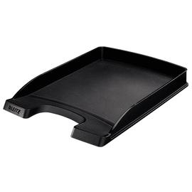 Briefkorb Plus flach für A4 242x32x340mm schwarz Kunststoff Leitz 5237-00-95 Produktbild
