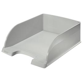 Briefkorb Plus Jumbo bis A4 242x95x340mm grau Kunststoff Leitz 5233-00-85 Produktbild