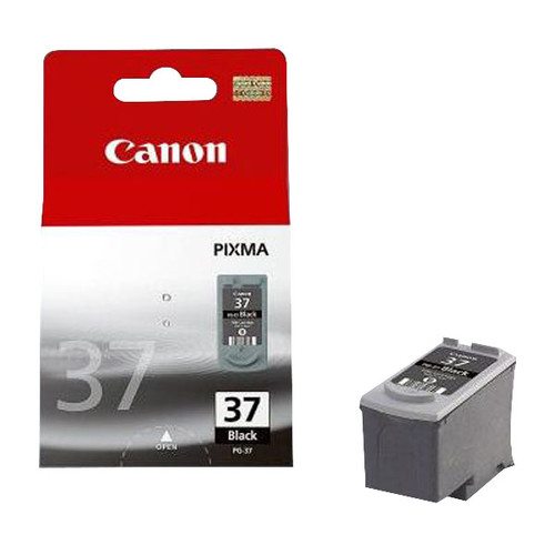 Druckkopfpatrone PG-37 für Pixma IP2500/ MP210 220 Seiten schwarz Canon 2145B001 Produktbild Front View L