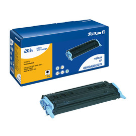 Toner Gr. 1203 (Q6000A) für Color LaserJet 1600/2600/2605 2500Seiten schwarz Pelikan 629401 Produktbild