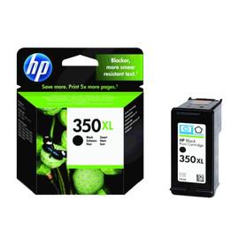 Tintenpatrone 350XL für HP DeskJet D4260/D4360 25ml schwarz HP CB336EE Produktbild