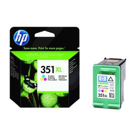 Tintenpatrone 351XL für HP DeskJet D4260/D4360 14ml farbig HP CB338EE Produktbild