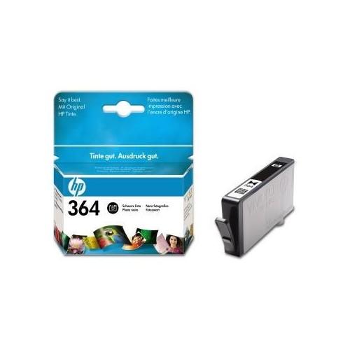 Tintenpatrone 364XL für HP Photosmart D5460 6ml FOTOschwarz HP CB322EE Produktbild Front View L