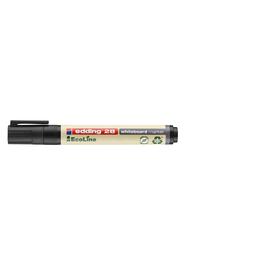 Whiteboardmarker EcoLine 28 1,5-3mm Rundspitze schwarz trocken abwischbar Edding 4-28001 Produktbild