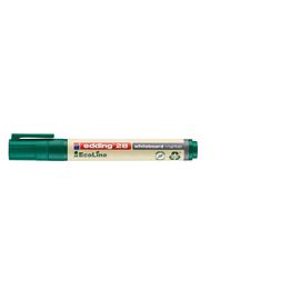 Whiteboardmarker EcoLine 28 1,5-3mm Rundspitze grün trocken abwischbar Edding 4-28004 Produktbild