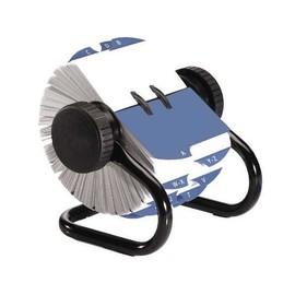 Rolodex Classic 24-teilig 67x102mm für 500Karten metallic schwarz Metall Sanford S0793600 Produktbild