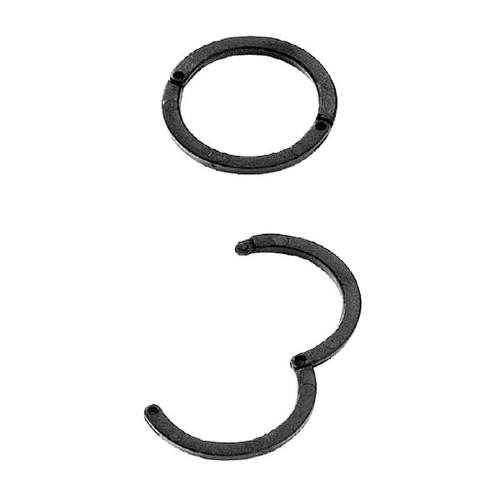 Ringbinder für 2-60Blatt Durchmesser 23mm schwarz Laurel 0427-11 (PACK=10 STÜCK) Produktbild