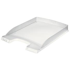 Briefkorb Plus flach für A4 242x32x340mm frost Kunststoff Leitz 5237-00-03 Produktbild