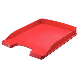 Briefkorb Plus flach für A4 242x32x340mm rot Kunststoff Leitz 5237-00-25 Produktbild