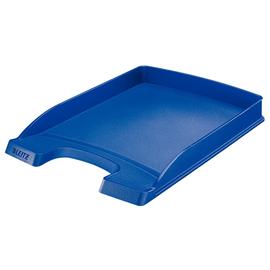Briefkorb Plus flach für A4 242x32x340mm blau Kunststoff Leitz 5237-00-35 Produktbild